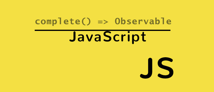Observables con JavaScript